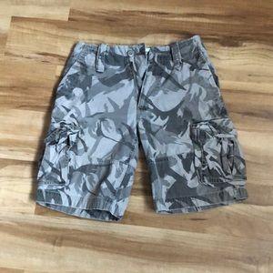 Boys cargo shorts size 8